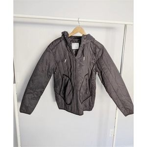 Urban Outfitters Black Puffer Jacket